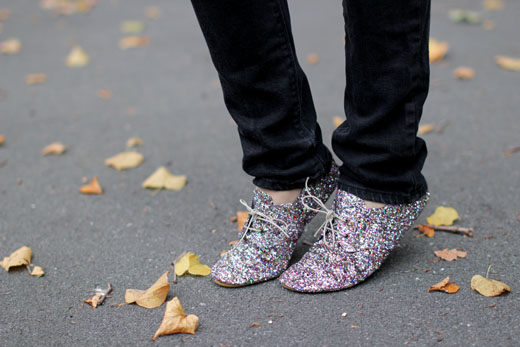 glitter Aniel shoes