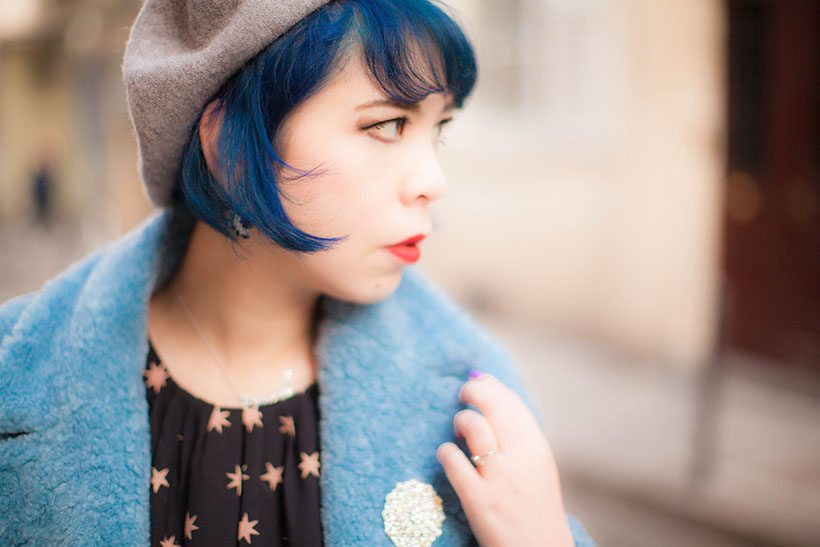 Blue hair- Lulla Blog