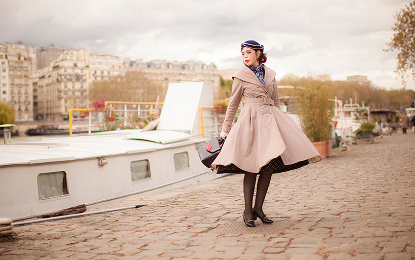 trench coat miss candy floss - Lulla Blog
