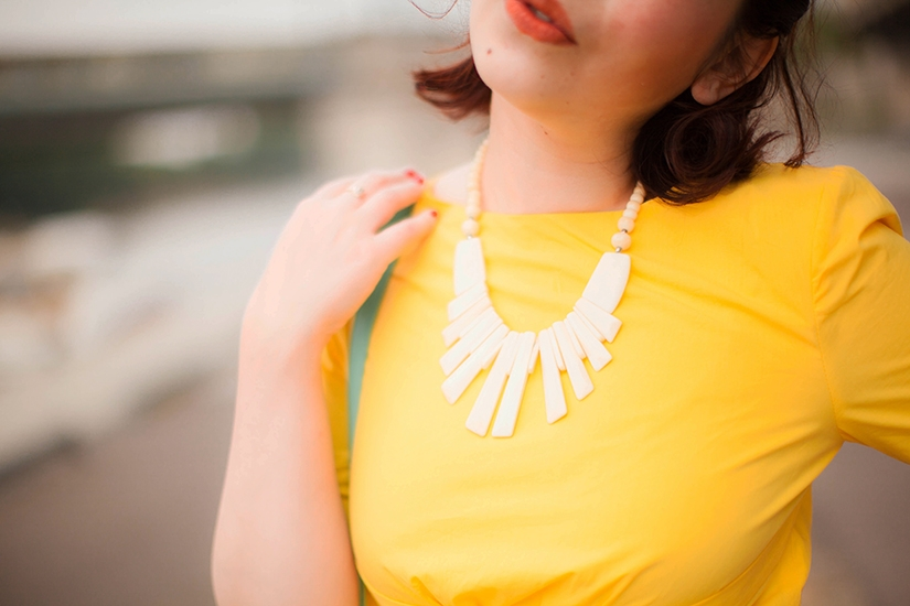 Summer Yellow Dress Lulla Blog