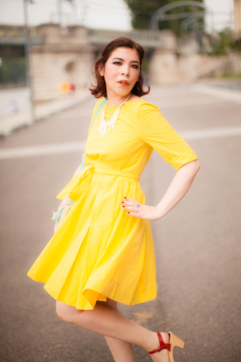 Summer yellow dress- Lulla Blog