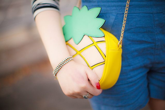 Primark pinapple bag